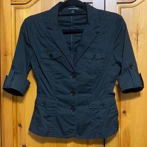 Button up black shirt